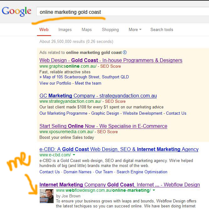 online marketing gold coast