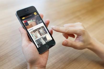 Portfolio mobile app